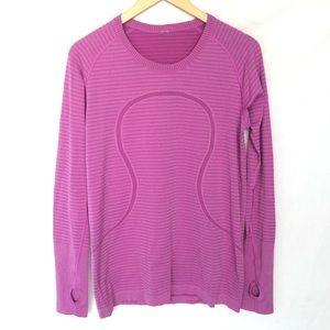 Lululemon Swiftly Purple Long Sleeves Women's 12